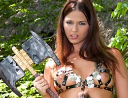 Big medieval castle orgy with hot blonde babe Silvia Saint