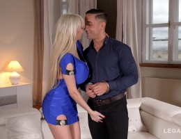 Big busty birthday present leads to Hardcore titty fucking with Sandra Star GP713