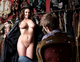 Lost in the back room of the vintage shop where he works, Danny finds a forgotten mannequin with a magical secret. When the boss is out, the model comes to life as a real girl. He dresses Emma up in lingerie, pausing a moment to admire her shapely curves