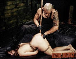 Whenever we have the chance to have Rose Red Tyrell in our dungeon, the hottest horny BDSM sex slave around, it\'s a done deal. We love testing her limits, especially her asshole. She loves rough anal sex and her new Daddy Sir knows how to use it: relentl