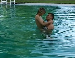 RUSSIAN COLLEGE - LITTLE WHORE - SEX IN THE SWIMMING POOL