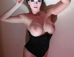 Busty beauty loves a big cock and a facial