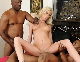 Kaylee Hilton fucked by her step-daddy and his best friend