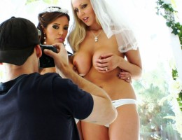 Behind The Scene With Married Girls Francesca Le & Julia Ann