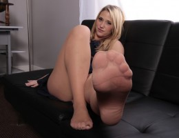 Whenever Shelby Paige announces Employee of the Month, they can expect the best foot job they\'ll ever get. No wonder why the guys are working so hard.