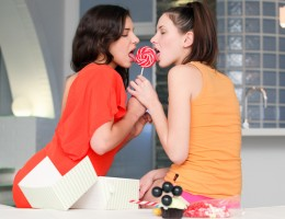 Candy Sweet & Henessy enjoy a sweet girls only private party