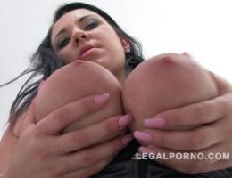 Sarah Black double anal training SZ913