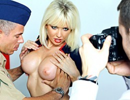 Officier Mick throws out a desperate, long shot video asking model, Margo, to the ball. By random chance, model Margo stubbles across it and decides to make Micks dream come true, but not before giving Mick what he deserves for serving the country.