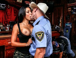 Rachel just came back from war. She is looking for a real man to fulfill all her needs and Johnny is up for the job...