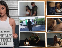 Tased and Confined The LP agents are on the hunt for criminal alien and big titted Latina Michelle Martinez. From the moment they arrive at her house they encounter resistance from one of her male friends and must subdue him with a taser. In her interrog