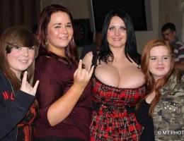 The massive tits of Sarah Lang