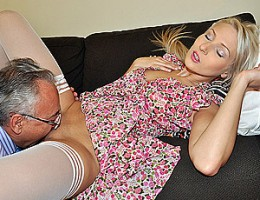 A horny british chap boning an attractive blonde hardcore