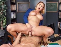 Johnny is sick of studying, and can\'t get the biology info through his head. Krissy may be book smart, but she has a lot of other skills as well. She decides to teach Johnny about the mating rituals of different species. Smell, touch, taste...Krissy won\