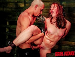 Talk about a score, Charli Acacia came to us only days after deciding to enter the porn biz, and we got to pop her BDSM cherry! Schwing! Just 19-years-old, Charli thinks she has a long and promising future of getting her ass and pussy destroyed on video,