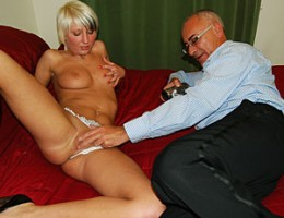 Jimslip gets down and dirty with a blonde cutie pov style
