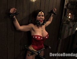 Wonder Women, captured, bound and put in an orgasm trap!-Countdown to Relaunch - 8 of 20