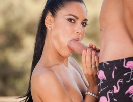 Petite beauty Apolonia gets her delicious tight pussy fucked