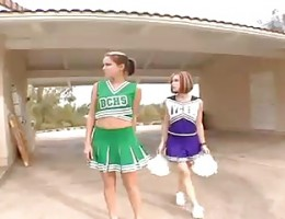 Some great Cheerleaders share a load