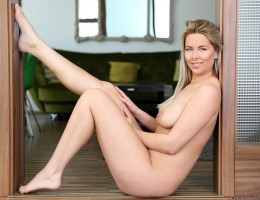 Horny Czech Nikki Dream is a total babe. Watch her lift her miniskirt to play with her bubble butt and then get naked so you can enjoy her huge natural tits and big areolas along with her slippery meaty twat that is always wet and ready for a good pussy f