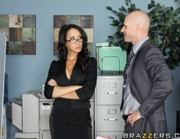 Katsuni is hard at work on