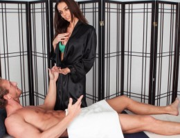 Tiffany Tyler flirty massage and happy ending