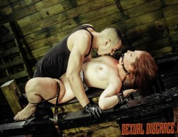 Autumn Kline is becoming quite the horny porn slut on the hunt for hot sex and big dicks. Her new Daddy, master of domination, has a fun sex slave training session with plenty of BDSM sex toys: fucking machine, dildo on a stick and vibrator, just for her.