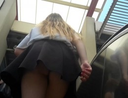 Perfect turkish teen upskirt