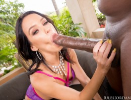 Megan Rain Welcomes A BBC In All Her Holes
