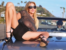 What do you get for the Milf who has it all? Start with a little adventure and romance, a road trip out to the ocean with a hung dude. Kelly Madison borrowed her husbands chauffeur and zipped out in their classic car on a one-way ticket to happiness. On