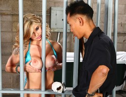 Officer Keni Styles hates spring break. Every year it\'s the same rowdy partiers starting trouble all over town. But when he has to arrest busty college slut Chloe Chaos, his day starts looking up. Chloe doesn\'t want to stay in the lock-up any longer tha