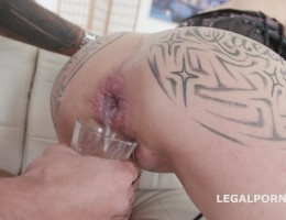 Natasha Ink 2 BBC, Balls Deep Anal, DAP, Gapes, Cremapie and Facial GL050