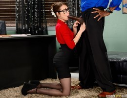 Sean wants to be cured of his pussy eating addiction. Dr. Riley Reid, his psychiatrist, decides that the only way to cure him is to show him that getting could be as good as giving. Not without taking advantage of his pussy eating addiction first, of cour