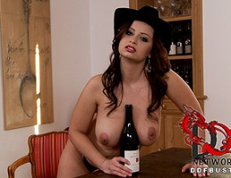 Big Czech tits, wine bottles, and outrageously sexy Sirale!