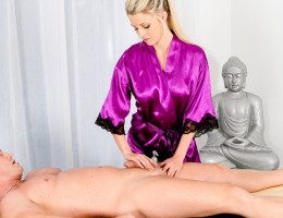 Sienna Day and Eric Masterson Enjoy Massage Parlor Sex