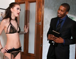 Kendra is dressed in sexy lingerie ready and hungry for cock