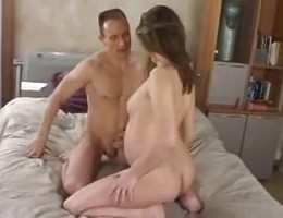 pregnant girl with old man