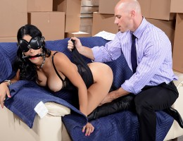 Johnny Sins is a working stiff who\'s stuck at the office on a Saturday when he sees some random busty Latina key his truck for no reason! When he goes out to inspect the damage, he finds a note from her saying that since she fucked his car, he can fuck h