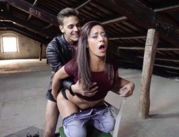 Hispanophone Lucia gets fucked by this huge-dicked man