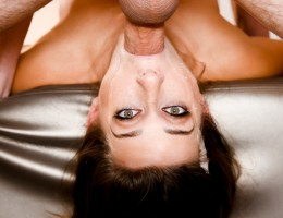 Cute Cassidy Klein excels at deepthroating & face fucking