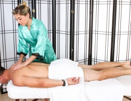 Lia Satisfies Josh Rivers With Woman\'s Touch Erotic Massage