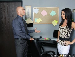 Johnny is called to meet his boss\' niece Jessica. One day this sweet girl will run the company and therefore Johnny has to show her around. Jessica isn\'t as sweet and innocent as her uncle thinks. She\'s very sexual towards Johnny and forces him to fuck