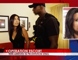 The Plea Bargain After getting busted by the cops in a sting operation, sexy call-girl Jade Jantzen is given a choice by Officer Jax; jail or plea bargain. She\'s so afraid of her relatives finding out about her job that she quickly agrees. Officer Jax sh