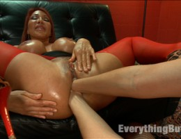 Double Anal Fisting with Ava Devine and Dana DeArmond