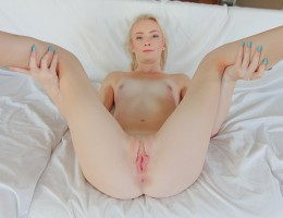 Little Maddy shows how her sexy blonde ass can bounce on a cock