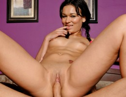 Crissy\'s study break leads to a pussy filled with hard cock