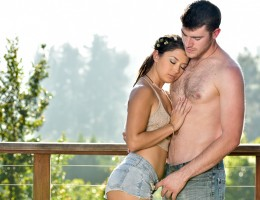 Sexy brunette Daisy Haze is fucked with passion by Gavin