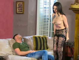 Joanna Angel Behind the scene with multiple actors on set !
