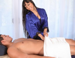 Tony comes in to Massage Parlor for Gaia\'s talented hands