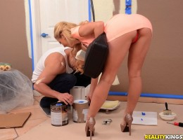 12 pics and 1 movie of Cheriedeville from Big Tits Boss
