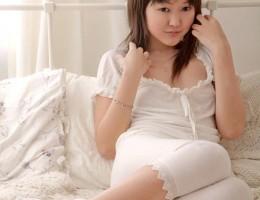 Asian Cutie Aliona Rubs Her Puffy Peach to a Juicy Orgasm